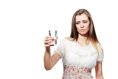 Bad tasting chlorine water